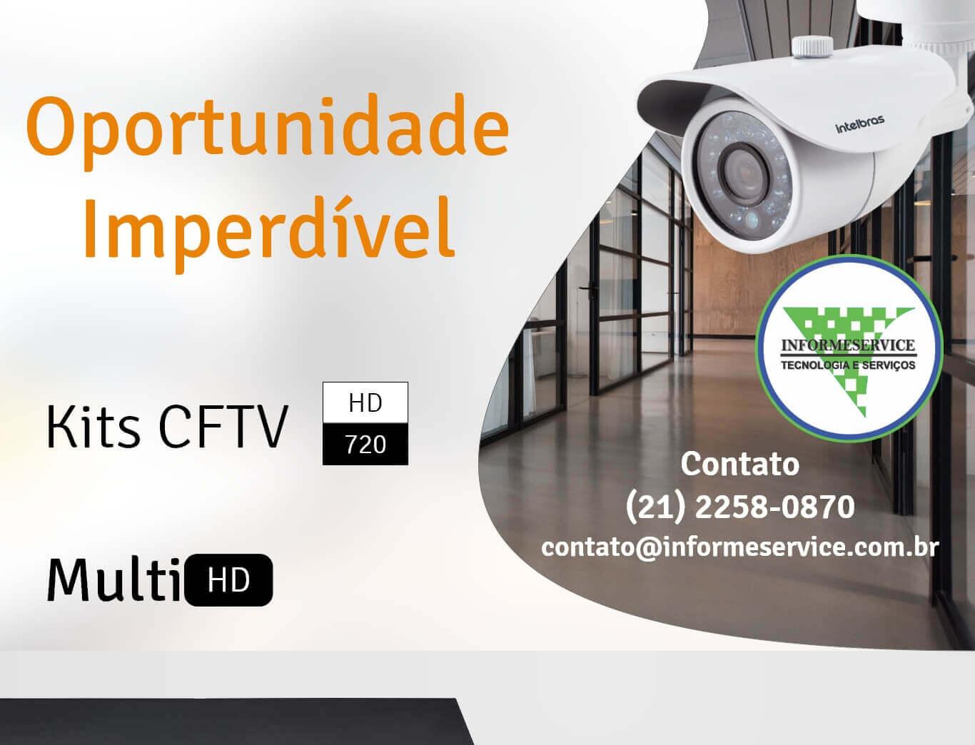 Kit CFTV – Oportunidade Imperdível
