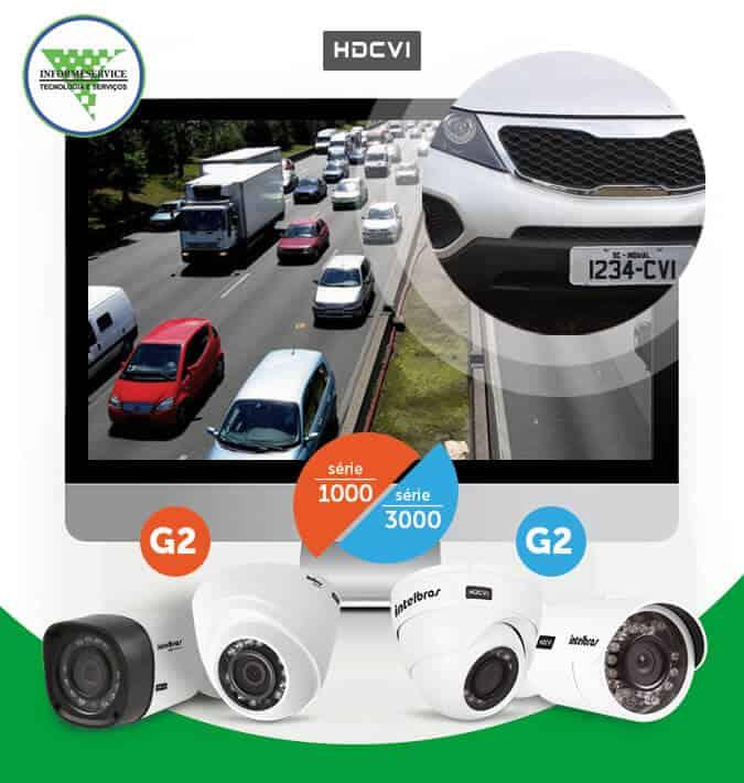Camera de segurança com resolução HD