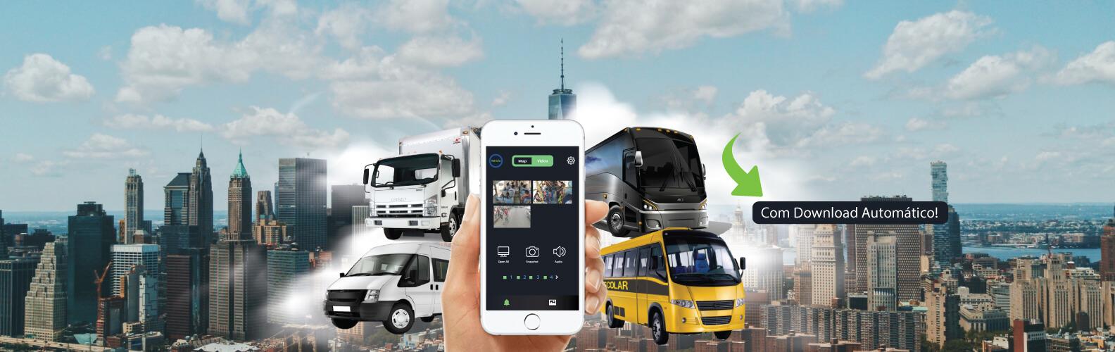 DVR Veicular, Carro, Onibus, Caminhões e Vans - Segurança e Eletronica